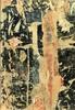 François DUFRENE - Gemälde - ENCRE OU SORT - 1964