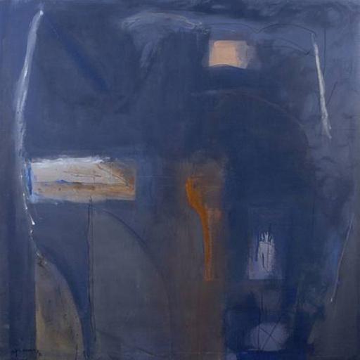 Alberto RAFOLS CASAMADA - Pintura - Blau Antic
