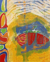 Carlo VANCHIERI - Painting - RX Sub