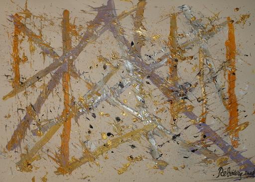Jérémie REBOURGEARD - Peinture - Traces d'or