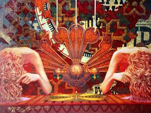 Konstantin KHUDYAKOV - Grabado - untitled