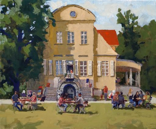 Frank SUPLIE - Pittura - Berlin, Zufahrt zum Gutshaus