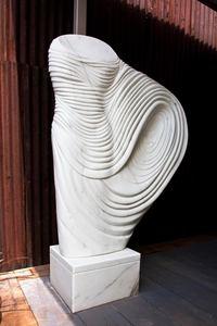 Paul VANSTONE - Sculpture-Volume - White Senator