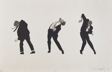 Robert LONGO - Stampa Multiplo - Men in the Cities I
