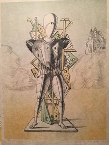 Giorgio DE CHIRICO - Stampa-Multiplo - Trovatore 1972