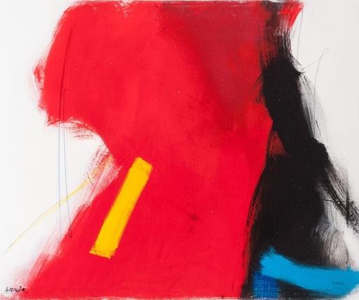Ana RINCON - Painting - ABSTRACION EN ROJO