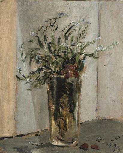 Filippo DE PISIS - Painting - Vaso di fiori