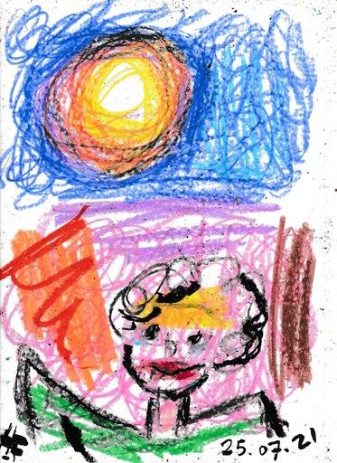 Harry BARTLETT FENNEY - Drawing-Watercolor - marilyn (25 07 21)