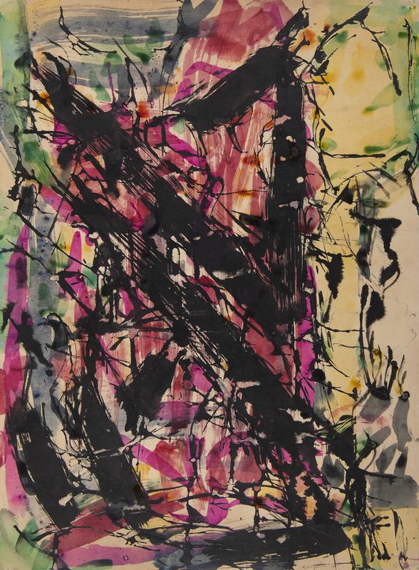 Jean-Paul RIOPELLE - Peinture - Sans titre