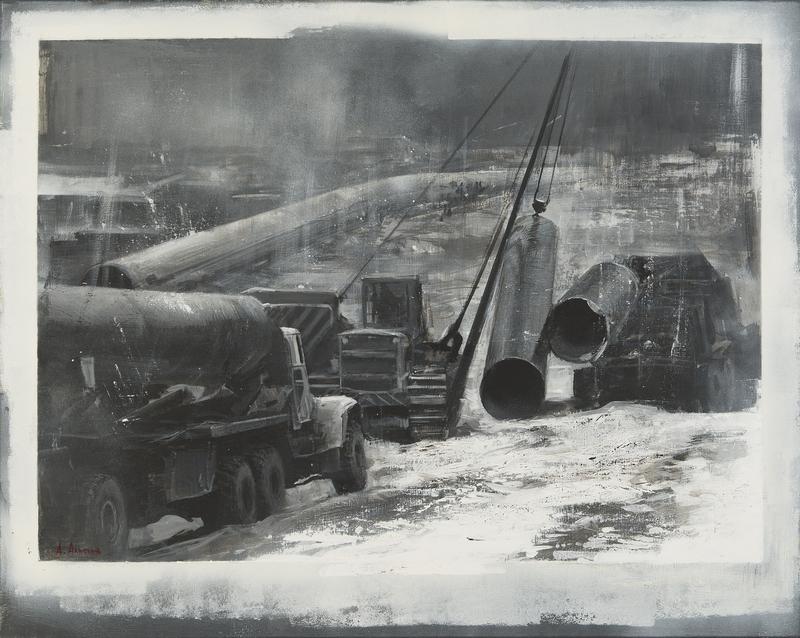 Alexey ALPATOV - 绘画 - Pipeline