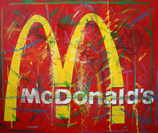 Enrico MANERA - Painting - Mc Donalds