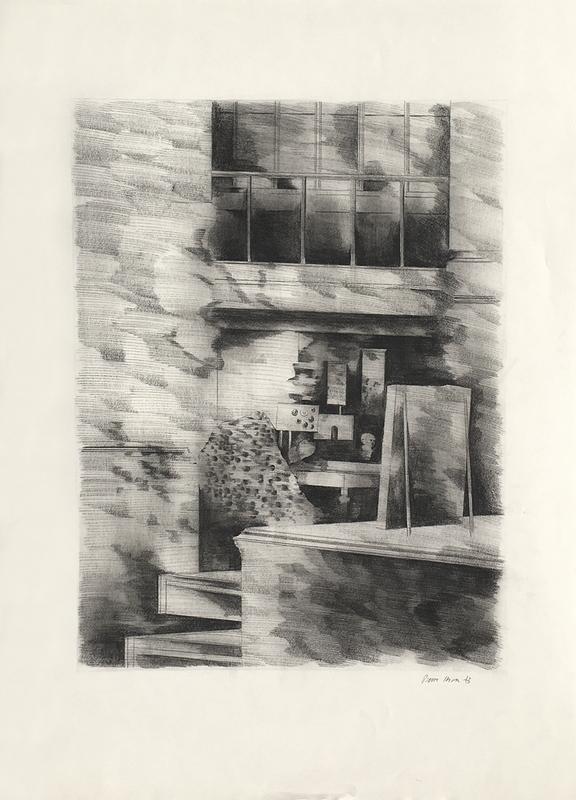 Pierre SKIRA - Drawing-Watercolor - Intérieur