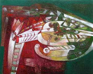 Raul ENMANUEL - Pintura - Silueta