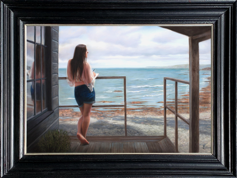 Tina SPRATT - Dessin-Aquarelle - Watching the Waves