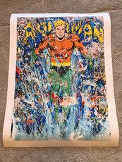 MR BRAINWASH - Estampe-Multiple - Aquaman
