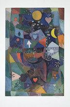 Yoshi TAKAHASHI - Estampe-Multiple - Dame mit Herz