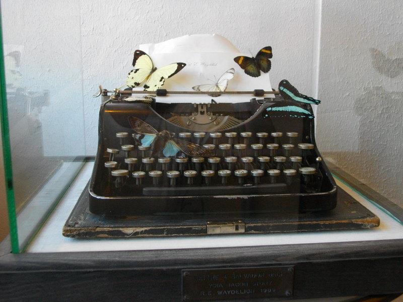 Raymond E. WAYDELICH - Sculpture-Volume - Lettre à Salvatore Dali Lydia Jacob Story