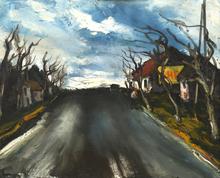 莫里斯•德•弗拉芒克 - 绘画 - Route de Beauce