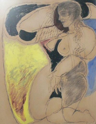 Christian BERNARD - Painting - La déesse