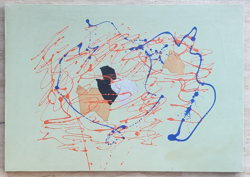 Giulio TURCATO - Gemälde - ACROPOLI