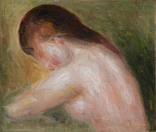 Pierre-Auguste RENOIR - Painting - Buste de femme nue