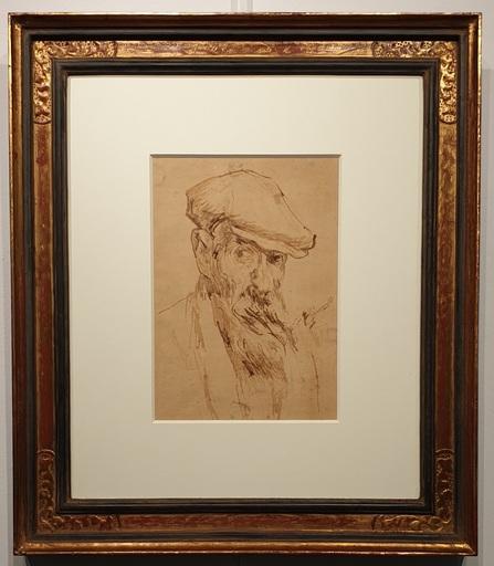 Francisco GIMENO ARASA - Dibujo Acuarela - Autorretrato