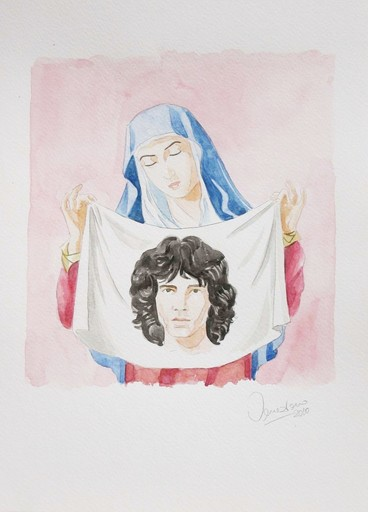 Giuseppe VENEZIANO - Painting - La Venere di Jim