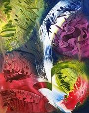 Shijo Alan BURNER - Gemälde - L'Ascension