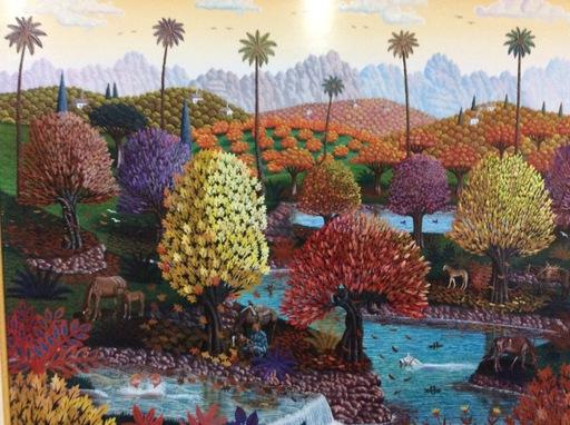 Juan BORRAS - Peinture - Otoño Dorado
