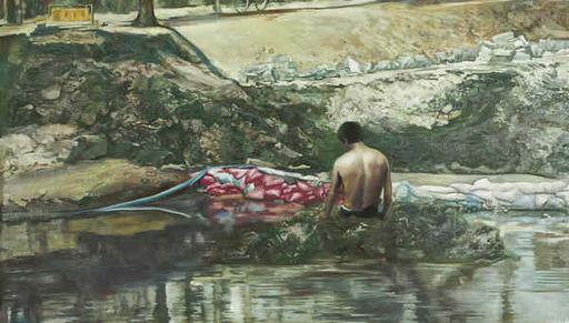 李大方 - 绘画 - River