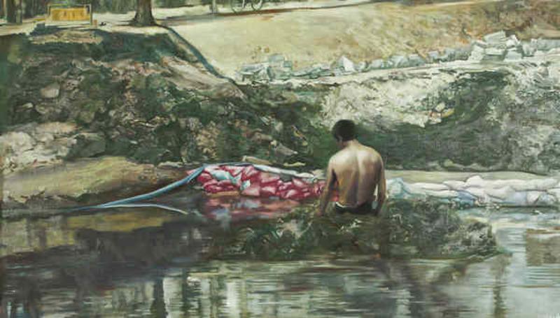 LI Dafang - Pittura - River