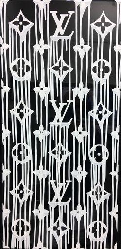 ZEVS - Pintura - Liquasated Louis Vuitton