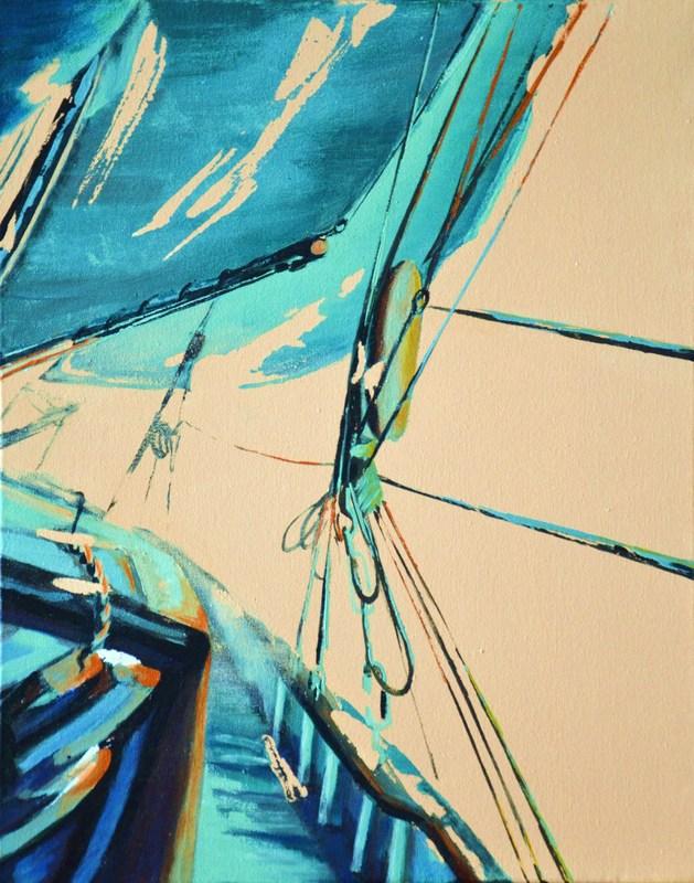 Diana KIROVA - Painting - Fly V