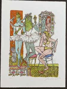 Alois CARIGIET - Estampe-Multiple - Garderobe