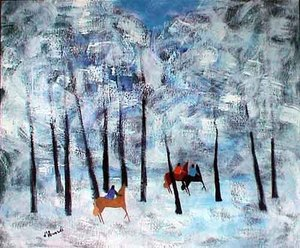 Gian Rodolfo D'ACCARDI - Painting - Inverno