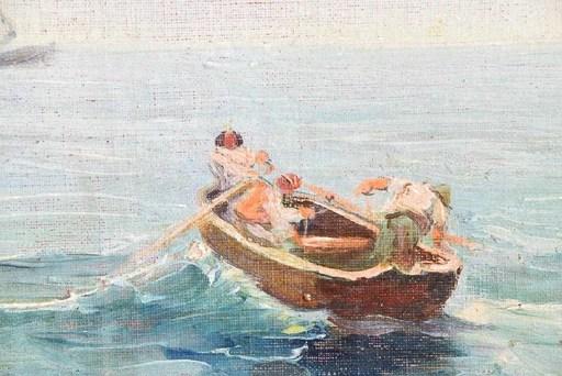 Martín RICO Y ORTEGA - Painting - Fisherman