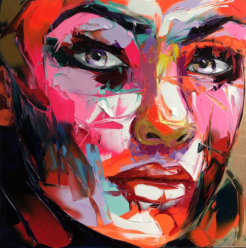 Françoise NIELLY - Pittura - Estelle