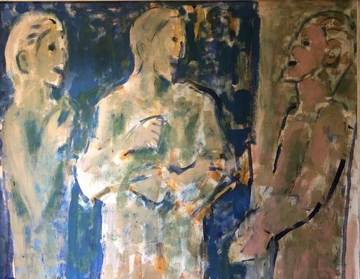 """Pere GASTO VILANOVA - Pintura - """"tres figuras"""""""