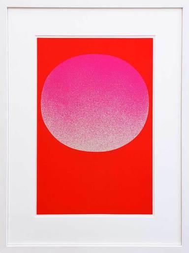 Joseph BEUYS - Print-Multiple - Modulation Pinkverlauf-Rot