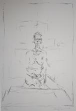 Alberto GIACOMETTI - Grabado - Seated Nude   Nu Assis