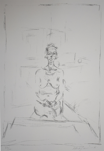 Alberto GIACOMETTI - Estampe-Multiple - Seated Nude | Nu Assis
