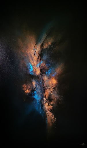 Elodie DOLLAT - Gemälde - Bereshit I