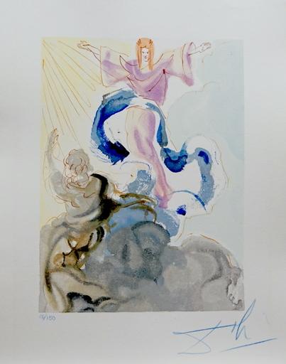 Salvador DALI - Druckgrafik-Multiple - Divine Comedy Heaven Canto 3