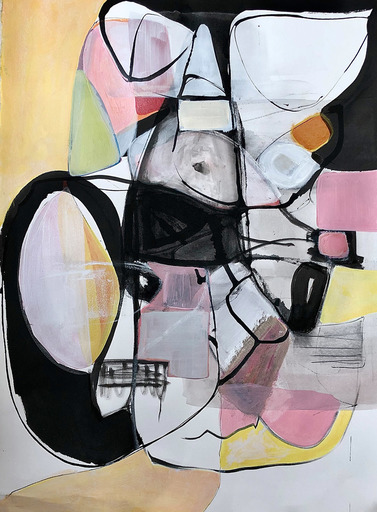 Irene NELSON - Pittura - Untitled Quarantine #2