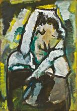 Werner SCHOLZ - Painting - Frierende