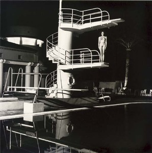 Helmut NEWTON, Diving Tower, Old Beach Hotel, Monte Carlo