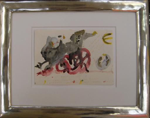 Horst JANSSEN - Drawing-Watercolor