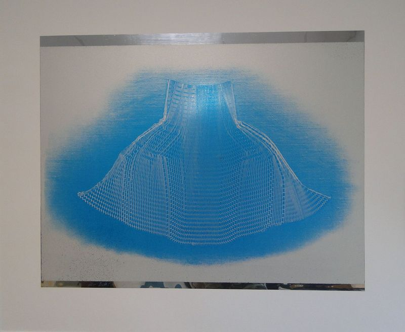 Heinz MACK - Grabado - Aura II