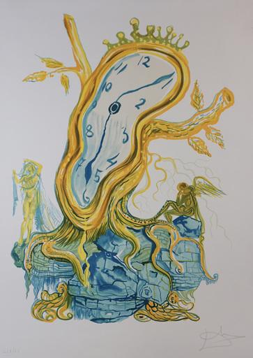 萨尔瓦多·达利 - 版画 - Time Stillness of Time