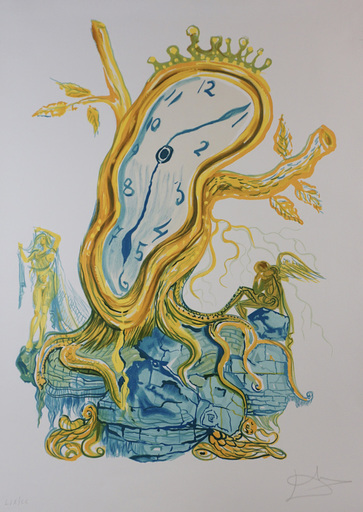 Salvador DALI - Stampa-Multiplo - Time Stillness of Time